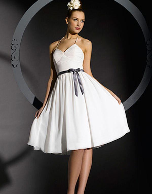 Короткое свадебное платье сшить 11